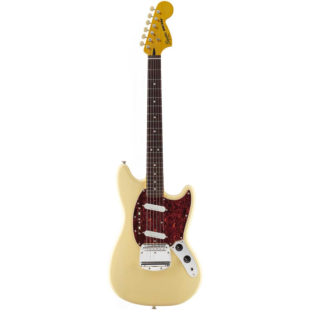FenderSquier VintageModifiedMustang,RW,VWT el-guitar vintagewhite