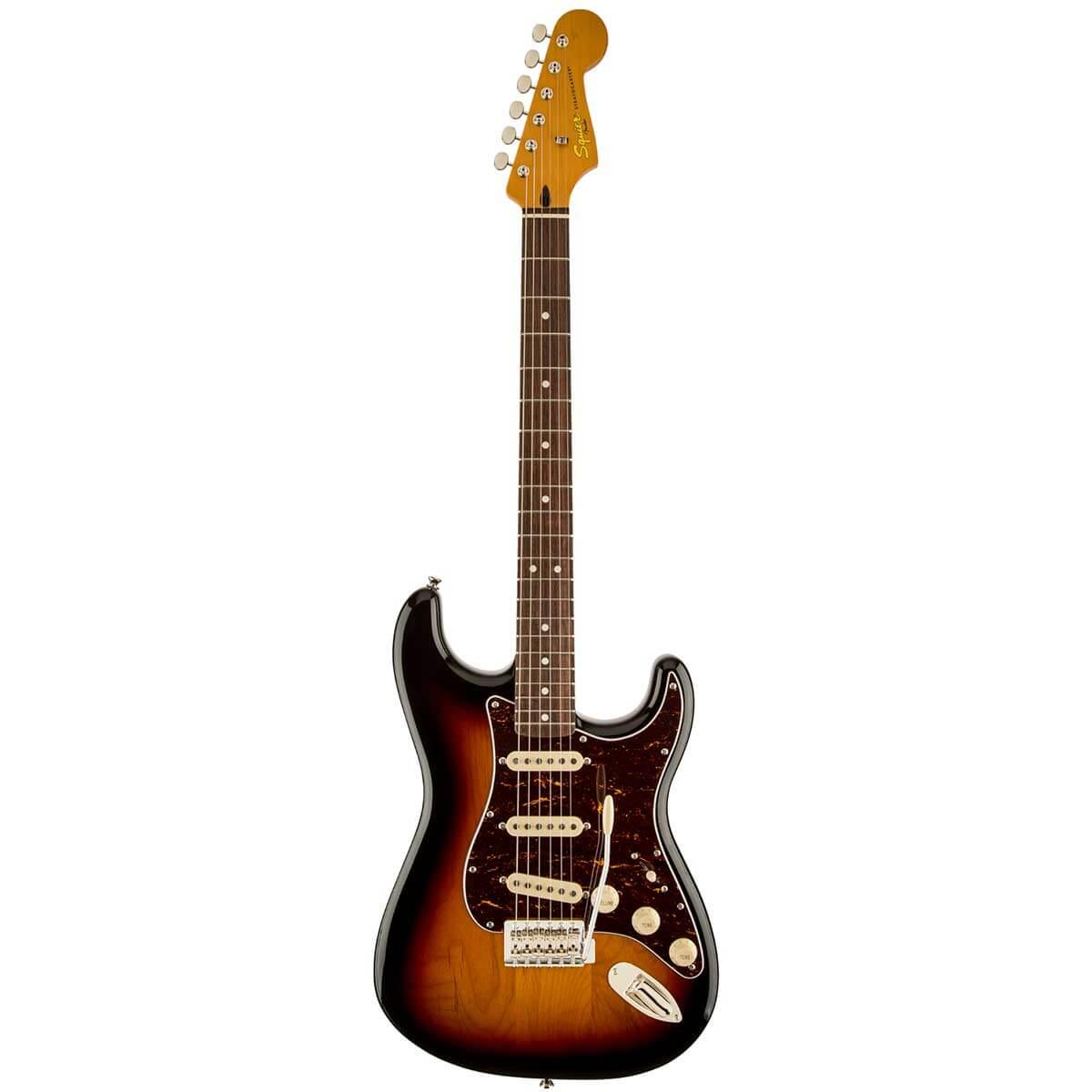 Image of   FenderSquier ClassicVibeStratocaster60s,RW,3TS el-guitar 3-tonesunburst