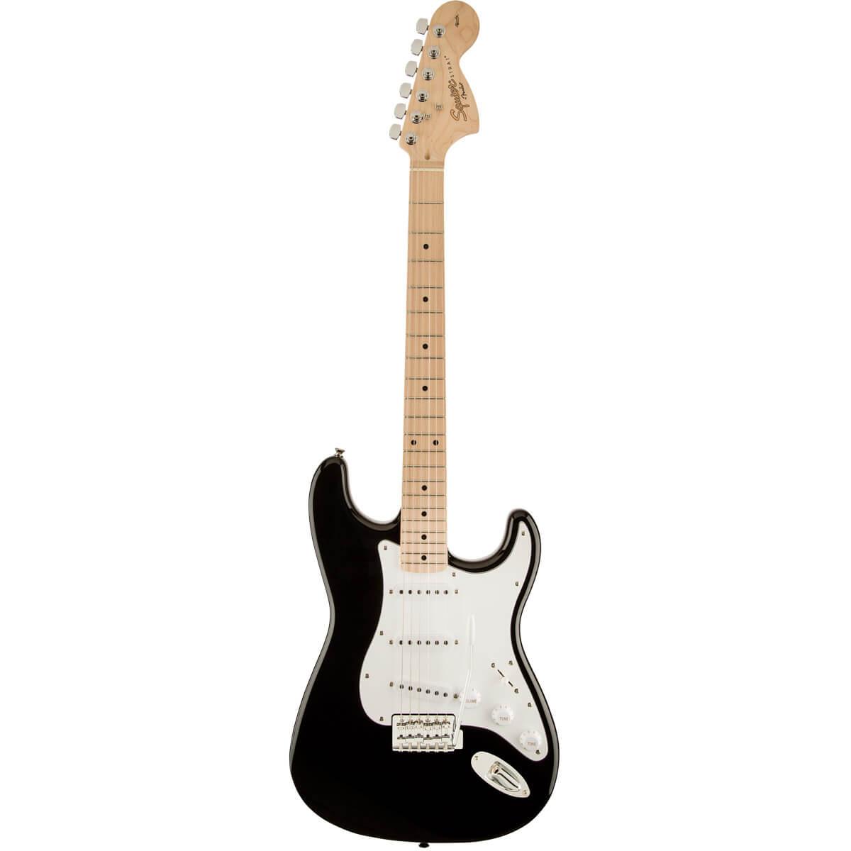 Image of   FenderSquier Affinity Series Stratocaster, MN BLK el-guitar
