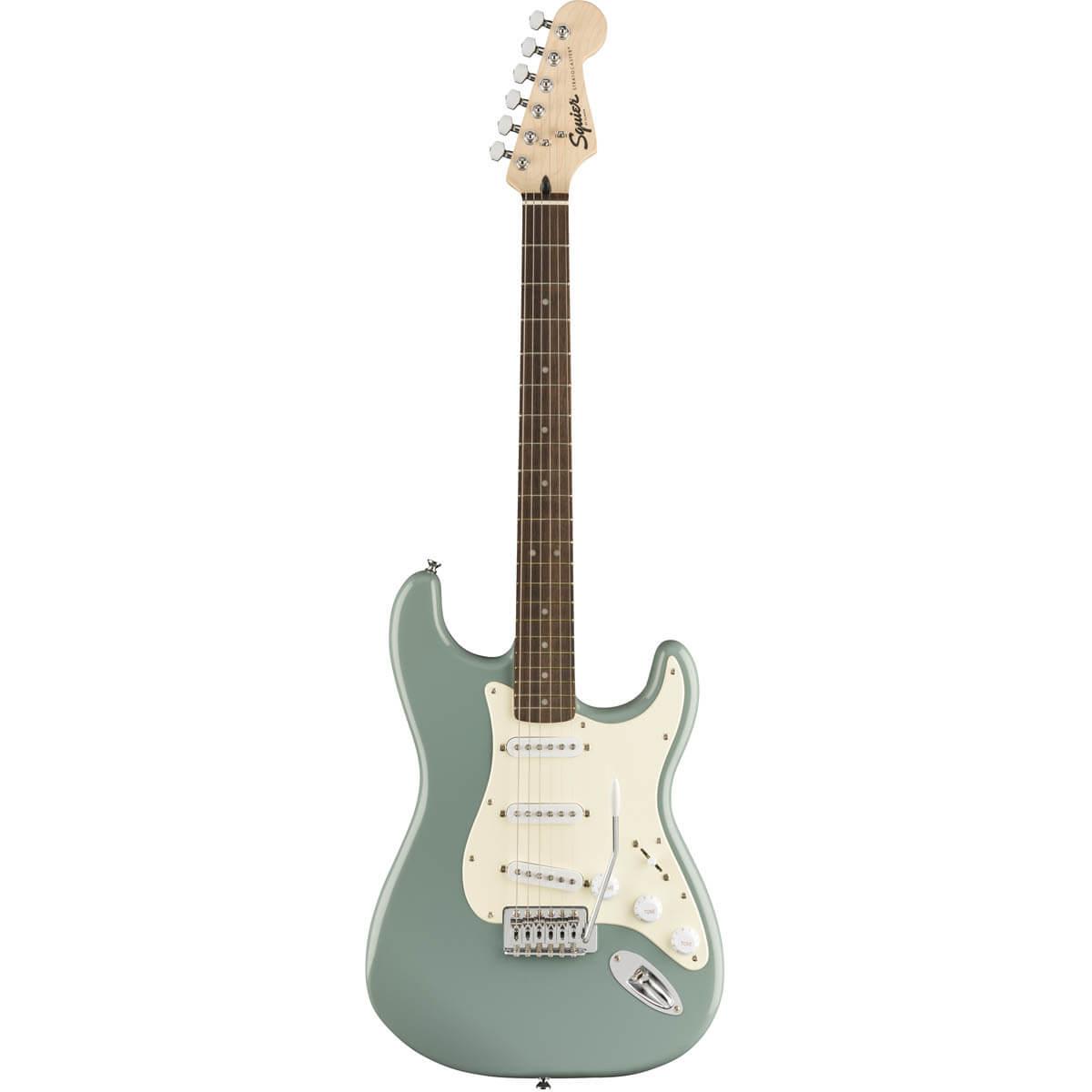 Image of   Fender Squier Bullet Strat with Tremolo, LRL, SNG el-guitar sonic grey