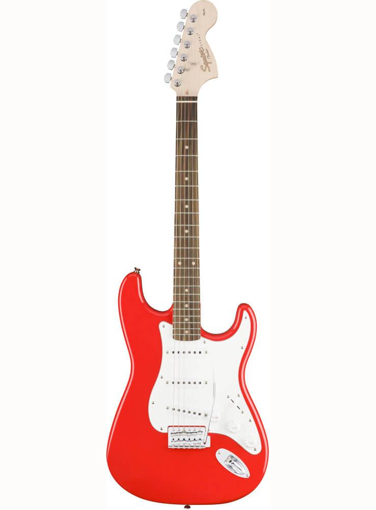 Image of   Fender Squier Affinity Series Stratocaster, LRL, RCR el-guitar race red