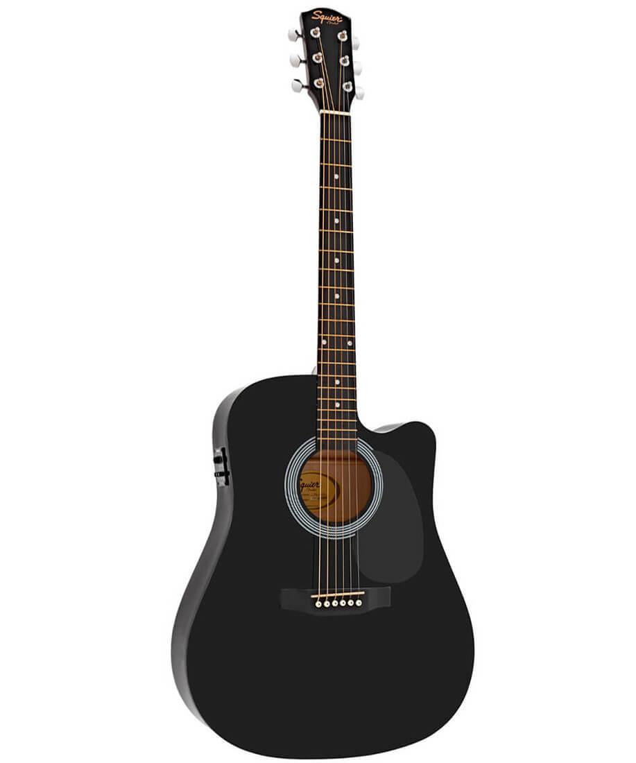 Image of   FenderSquier SA-105CE western-guitar sort