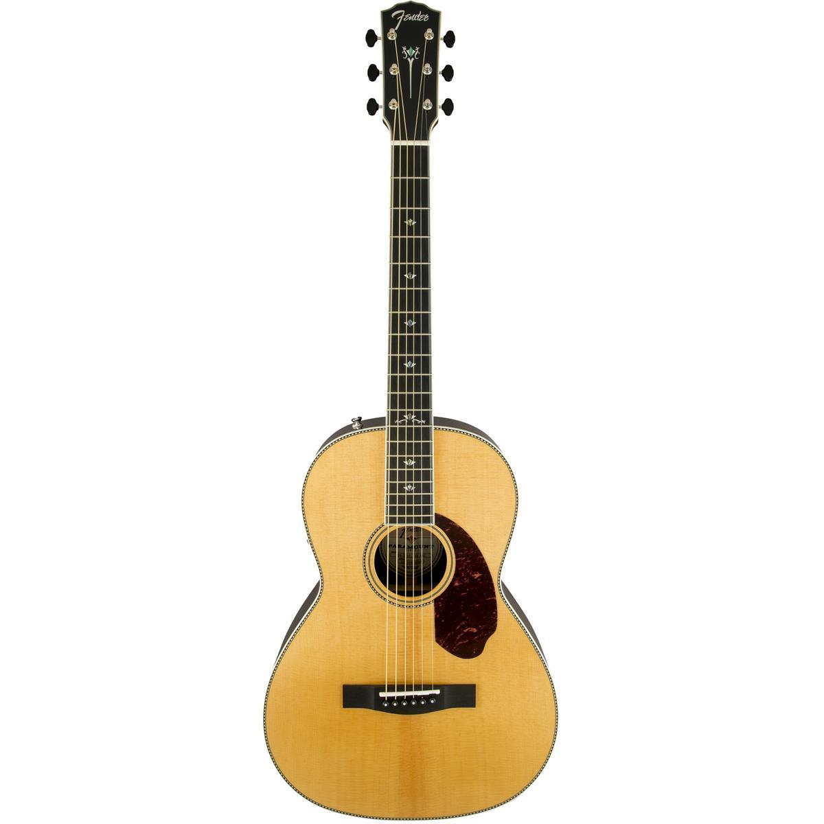 Fender PM-2E Deluxe Parlor, NAT western-guitar natur