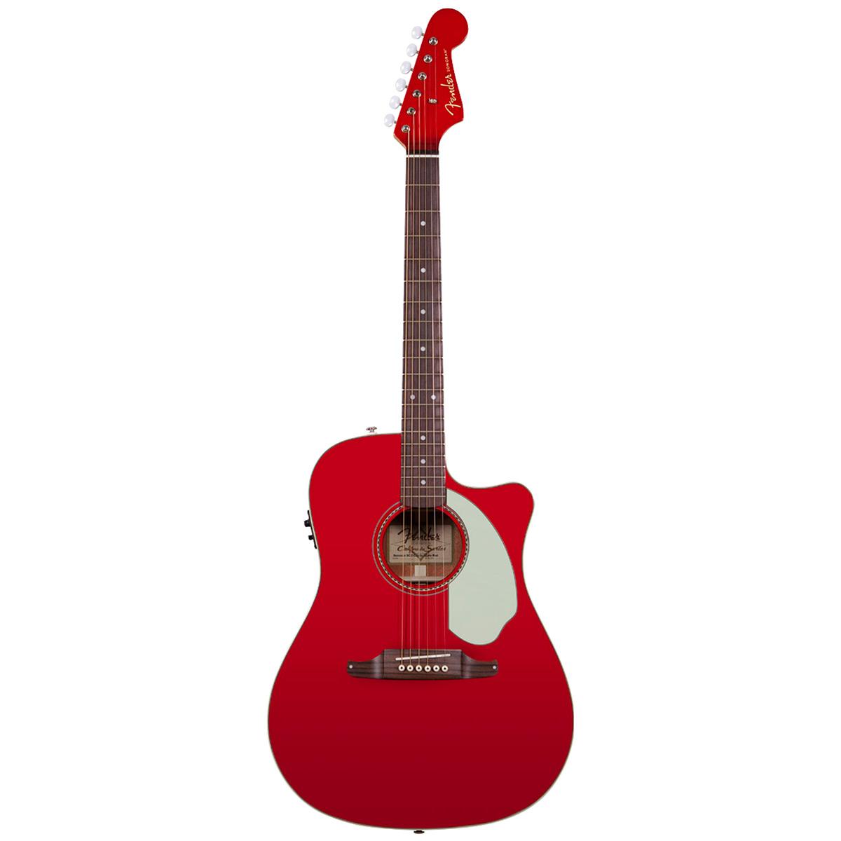 Image of   Fender SonoranSCE western-guitar candyapplered