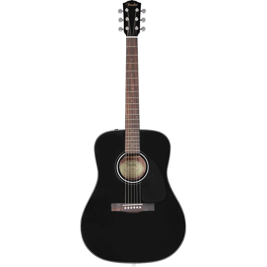 Billede af Fender CD-60 V3 BLK western-guitar sort