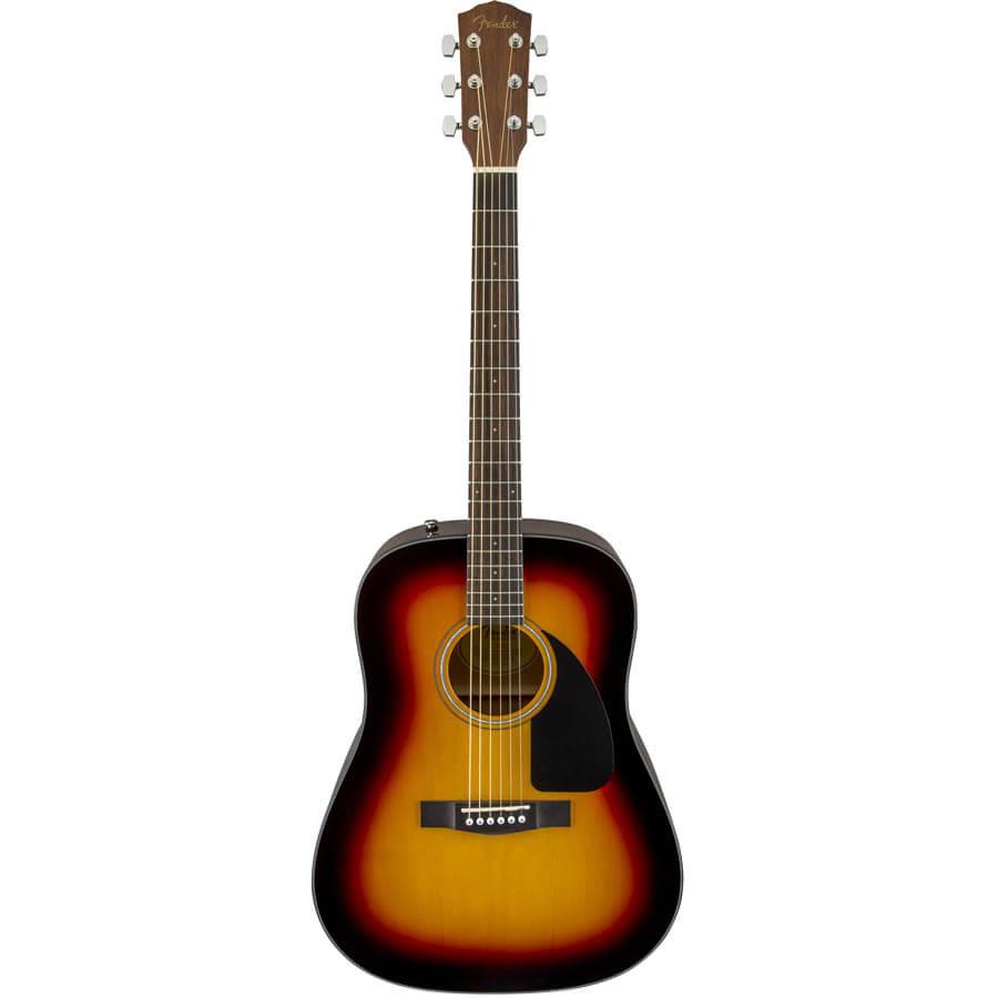 Billede af Fender CD-60 V3 SB western-guitar sunburst