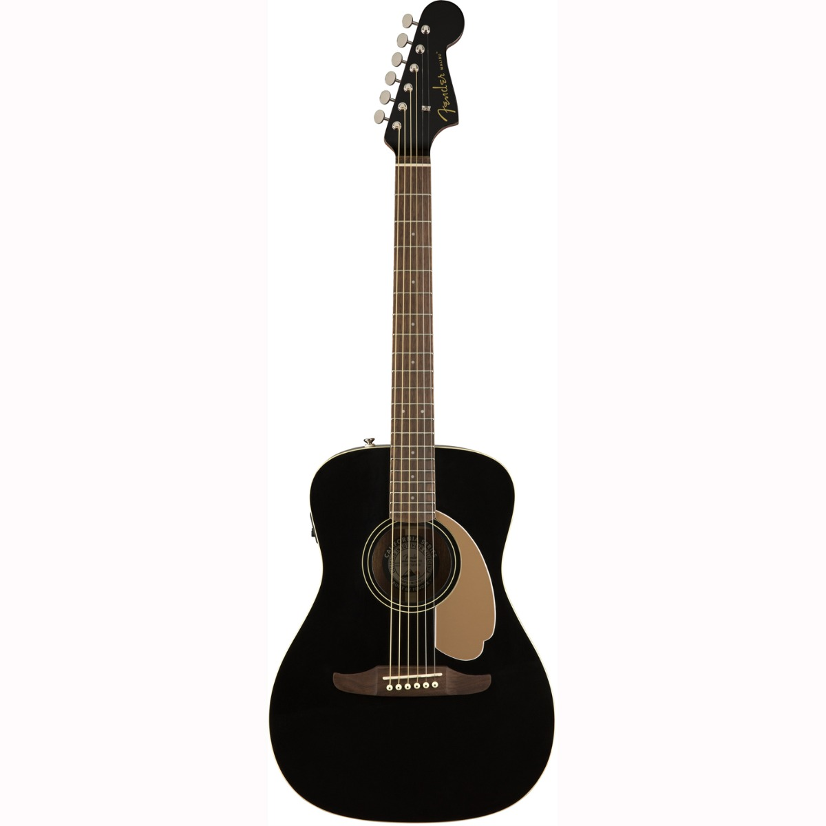 Fender Malibu Player, JTB western-guitar jetty black
