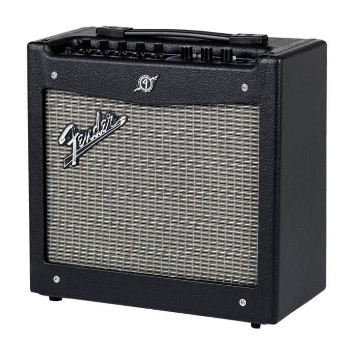Image of   Fender MustangI(V.2) guitarforstærker black silver