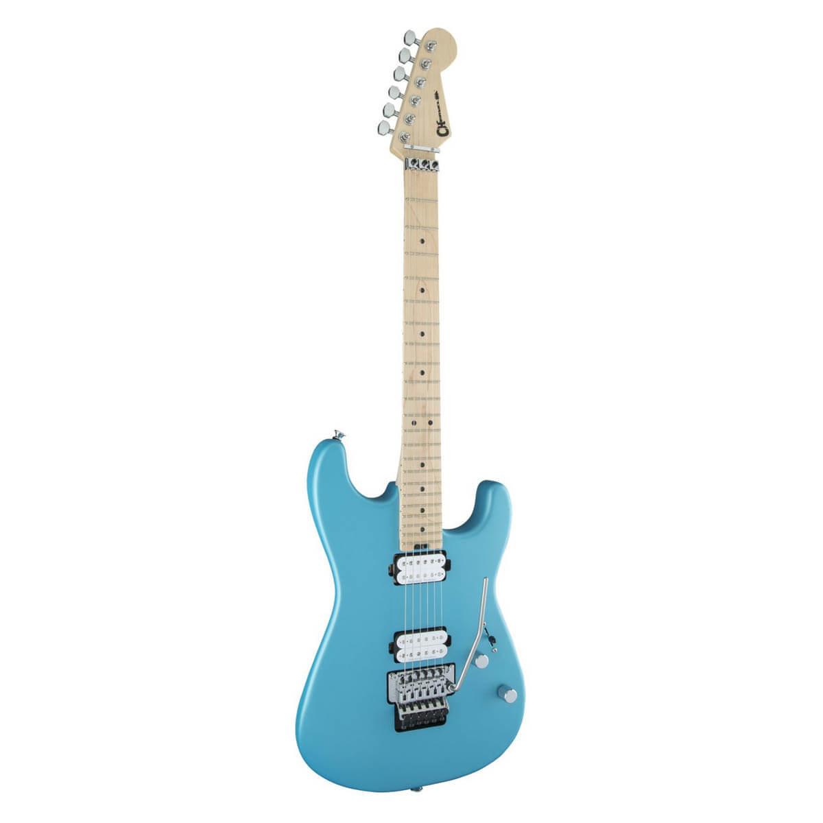 Image of   Charvel Pro-Mod San Dimas Style 1 HH FR M el-guitar matte blue frost