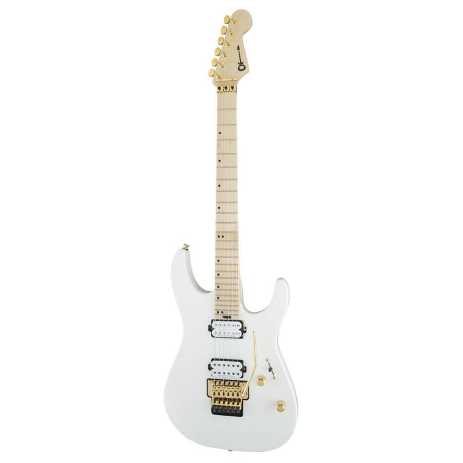 Charvel Pro-Mod DK24 HH FR M el-guitar snow white