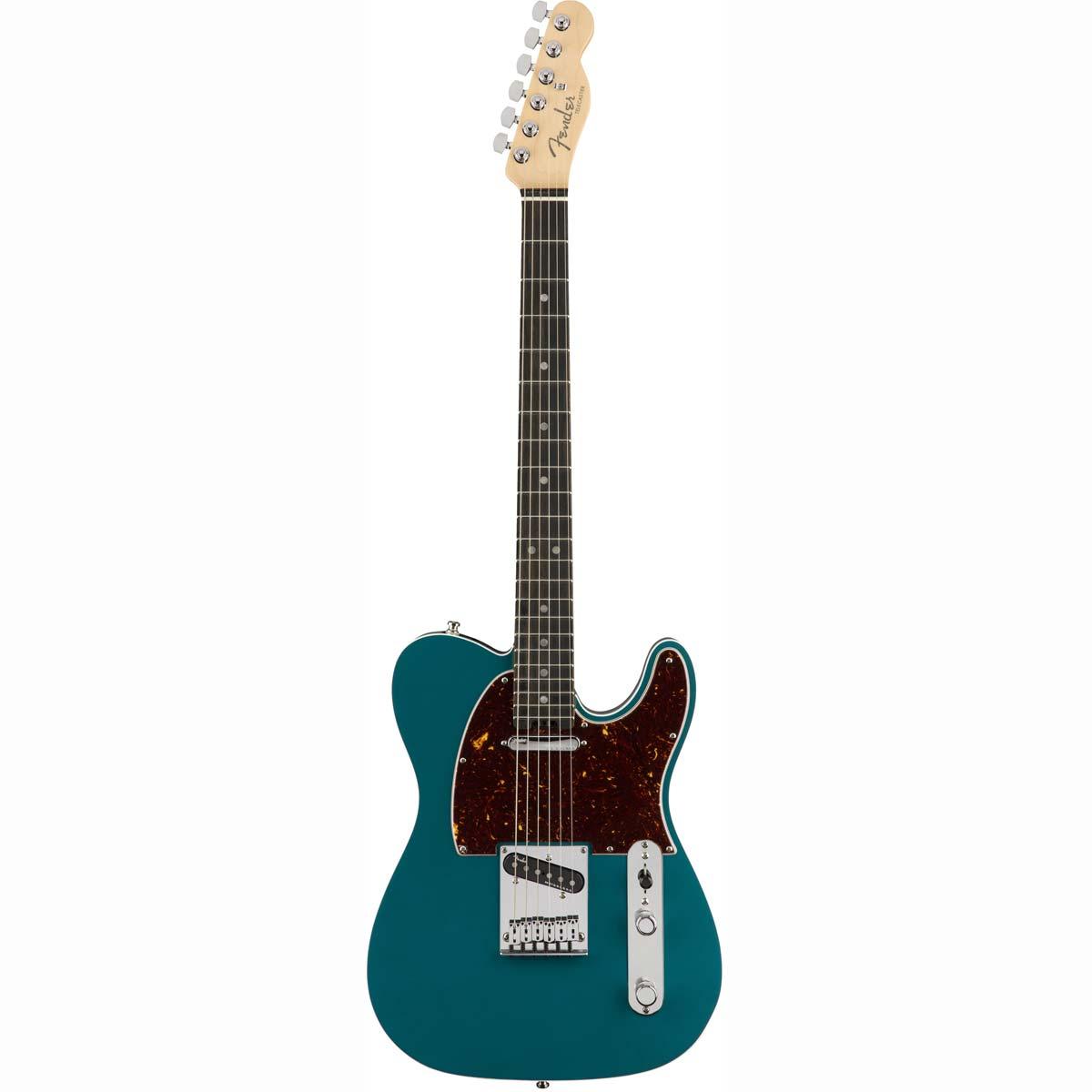 Fender American Elite Telecaster, EB, OCT el-guitar ocean turquoise