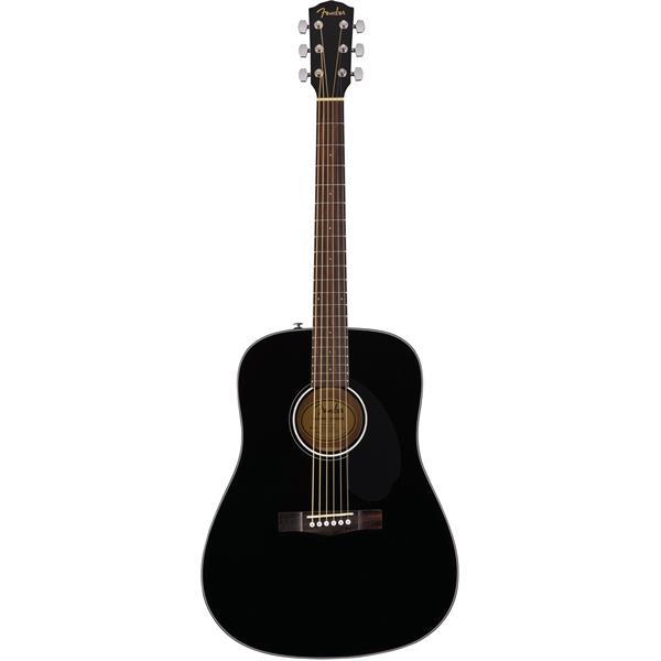Billede af Fender CD-60S BLK western-guitar sort
