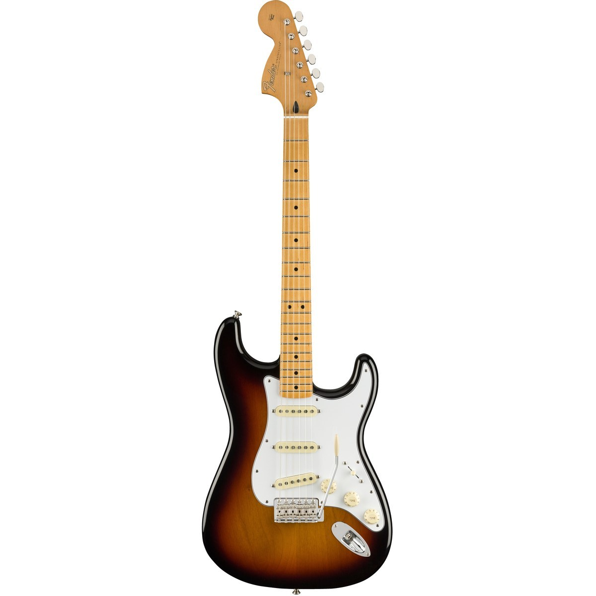 Billede af Fender Jimi Hendrix Stratocaster, MN, 3TS el-guitar 3-tone sunburst