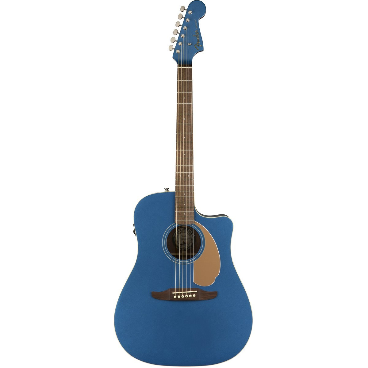 Image of   Fender Redondo Player, BLB western-guitar belmont blue