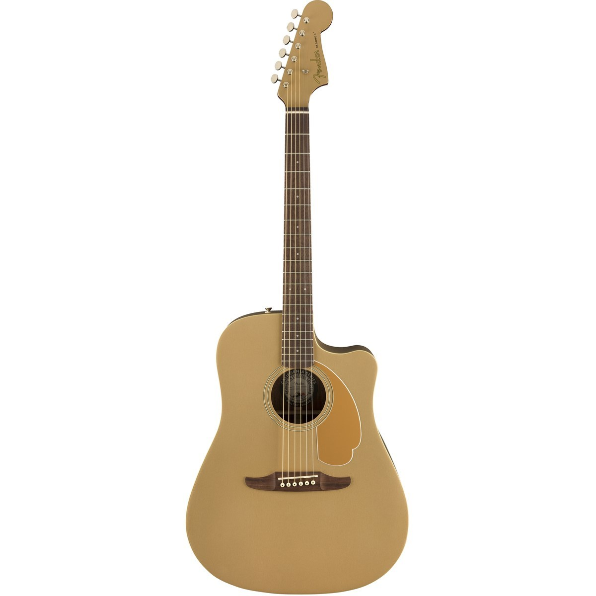 Image of   Fender Redondo Player, BZS western-guitar bronze satin