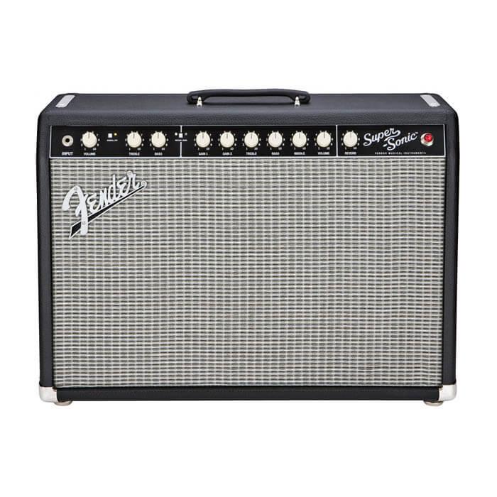 Image of   Fender Super-Sonic 22 BLK guitarforstærker