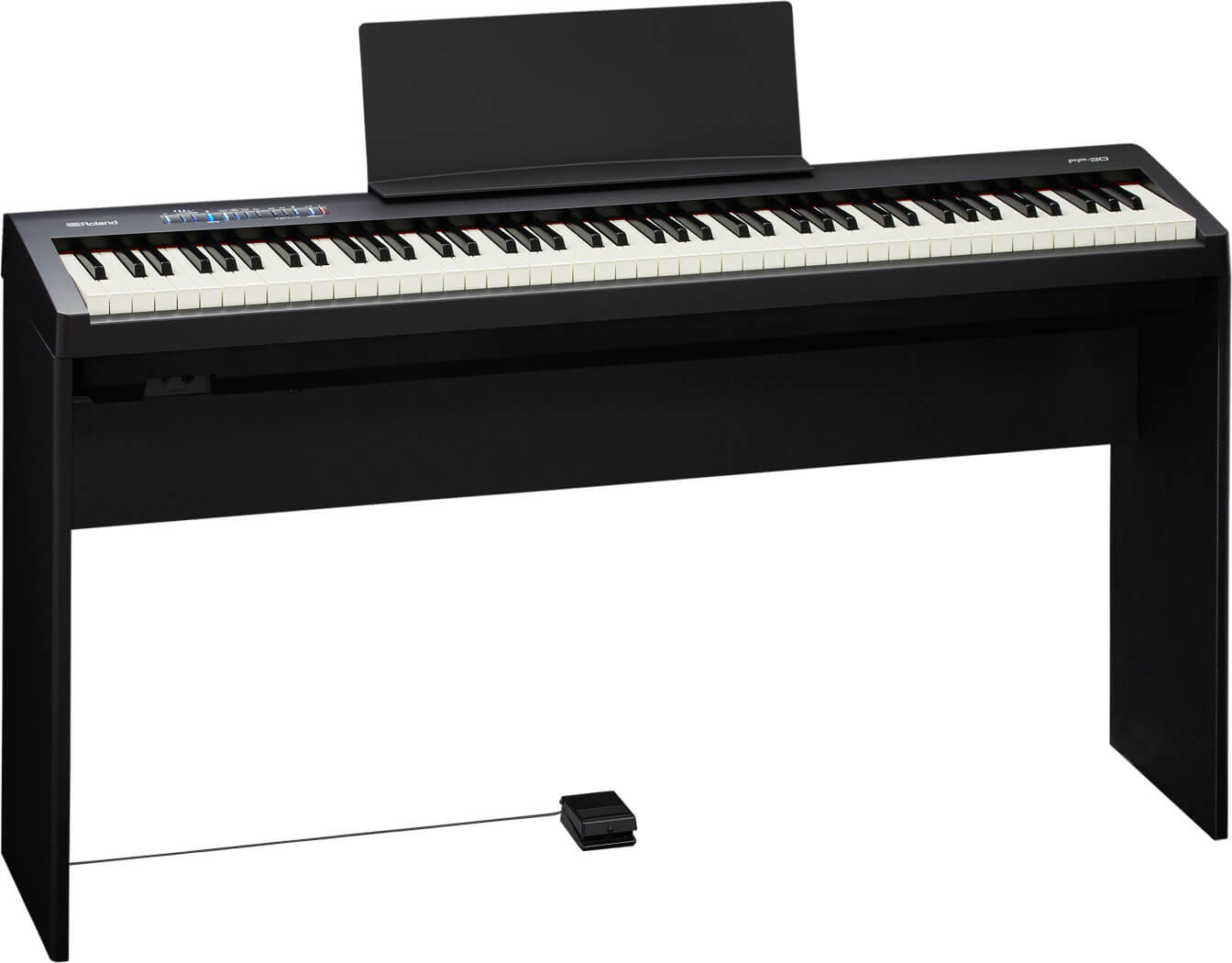 Roland elklaver FP30-BK med KSC70-BK ben
