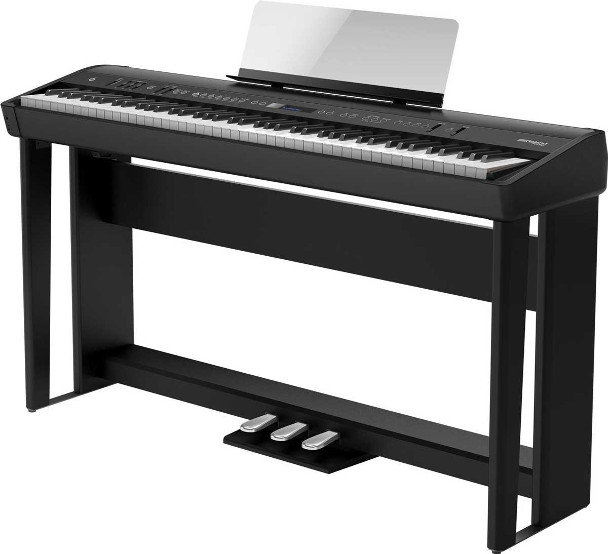 Roland elklaver FP90 med KSC90 ben og KPD90 pedalsæt