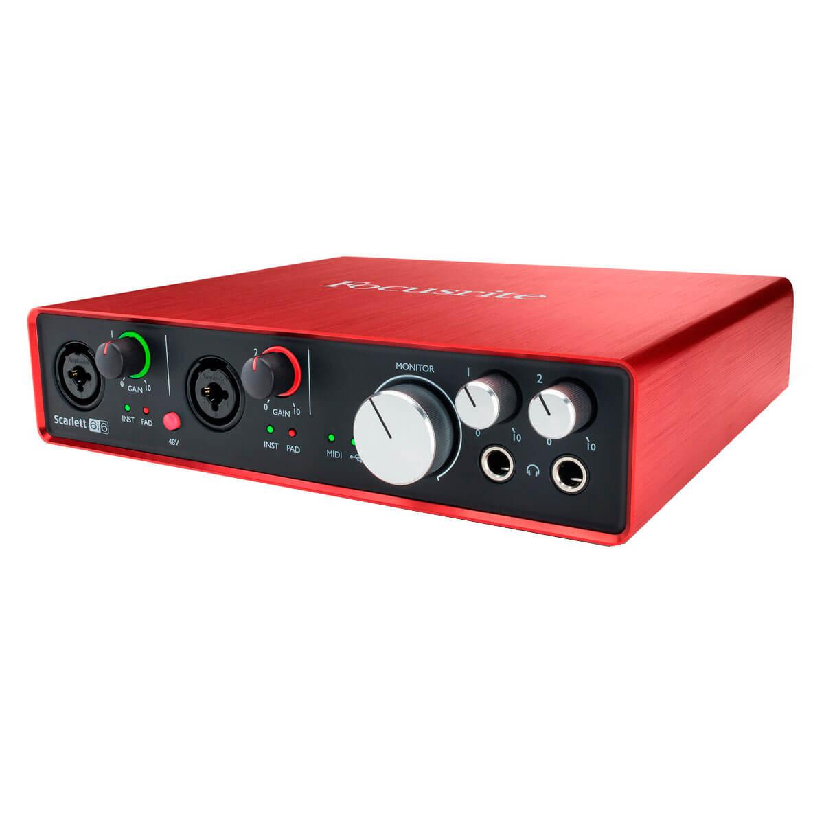 Focusrite Scarlett6i6(2ndgen) USBlydkort