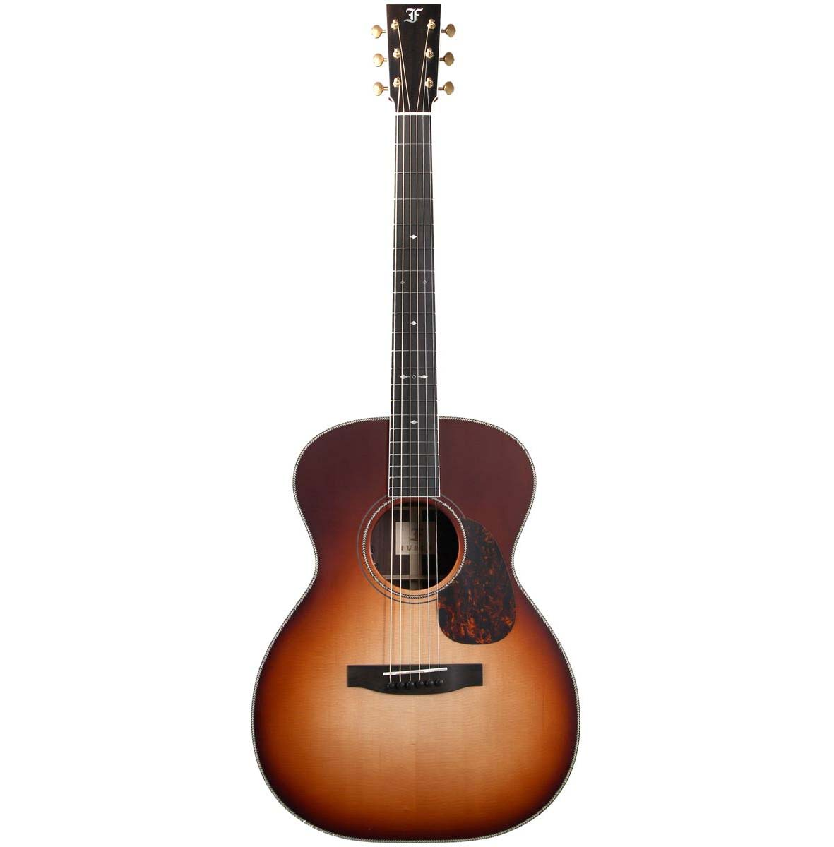 Image of   Furch Vintage 2 OM-SR - L.R.Baggs VTC western-guitar sunburst