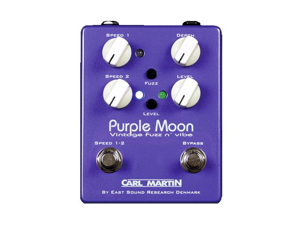 CarlMartin PurpleMoonVintageFuzznVibe guitarpedal