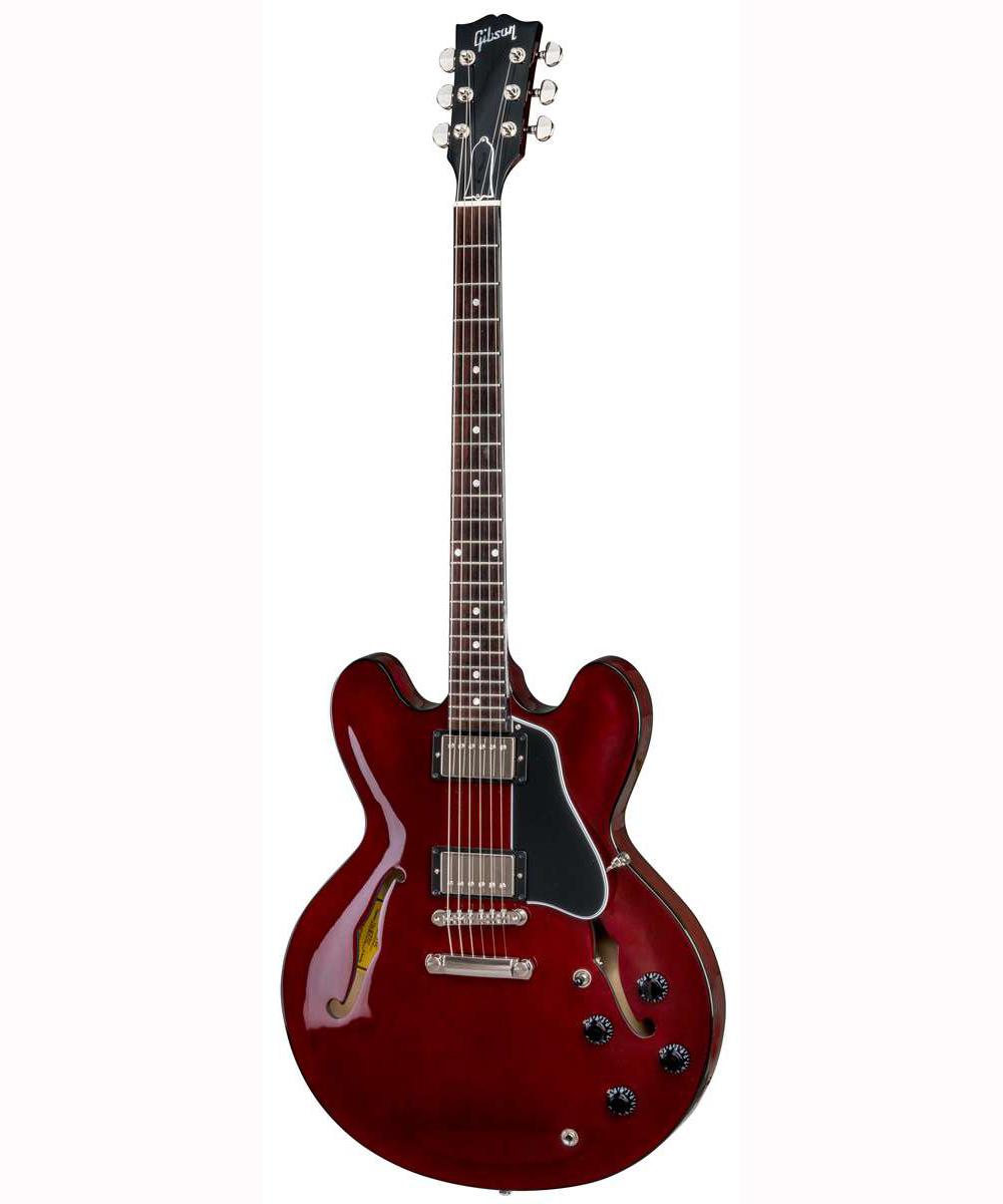 Gibson ES-335 DOT 2018 el-guitar vinrød