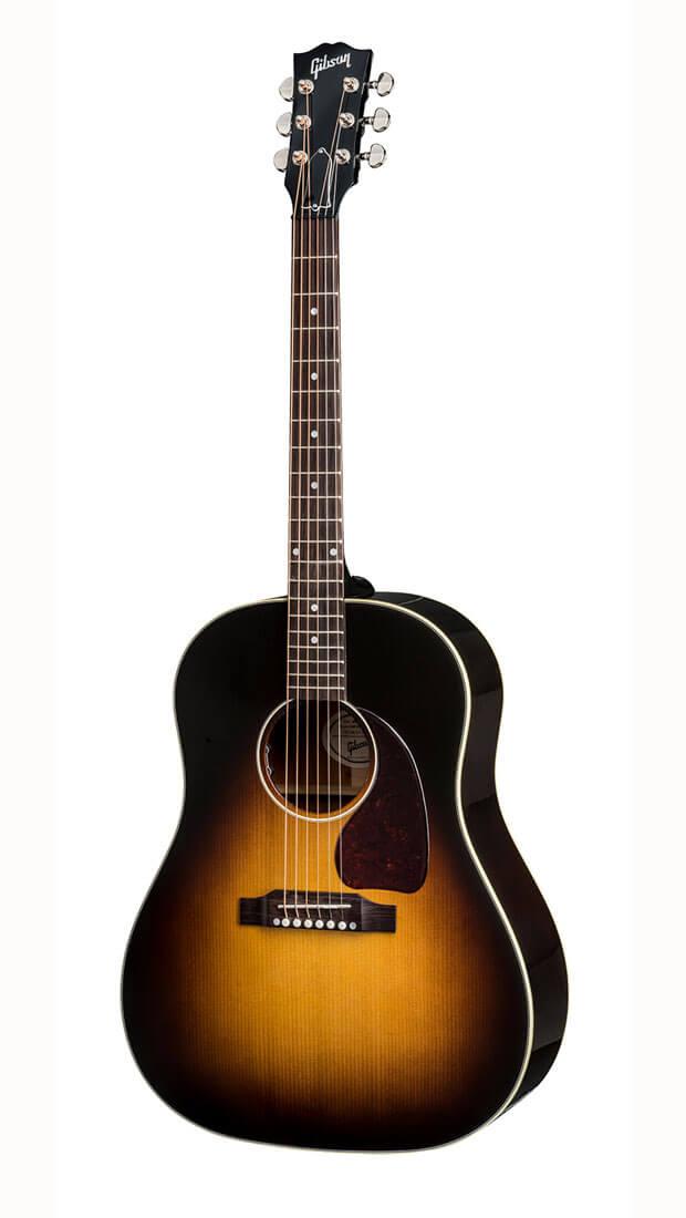 Image of   Gibson J-45 Standard 2019 western-guitar vintage sunburst