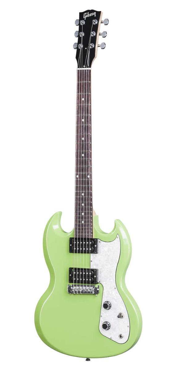 Gibson SG Fusion el-guitar lysegrøn