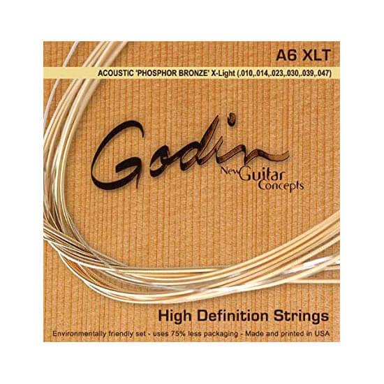 Image of   Godin A6 XLT western-guitar-strenge, 010-047