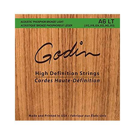 Image of   Godin A6 LT western-guitar-strenge, 012-053
