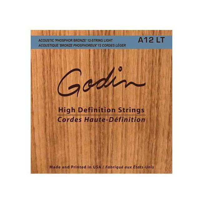 Image of   Godin A12 LT 12-strenget western-strenge, 010-047