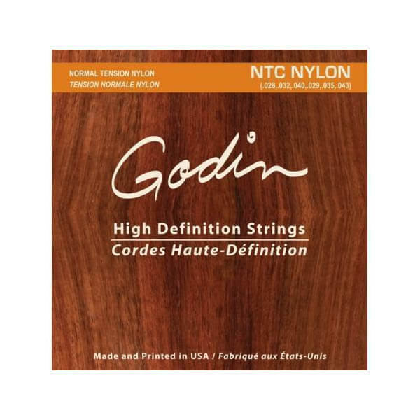Image of   Godin NTC Nylon spansk guitar-strenge, normal tension