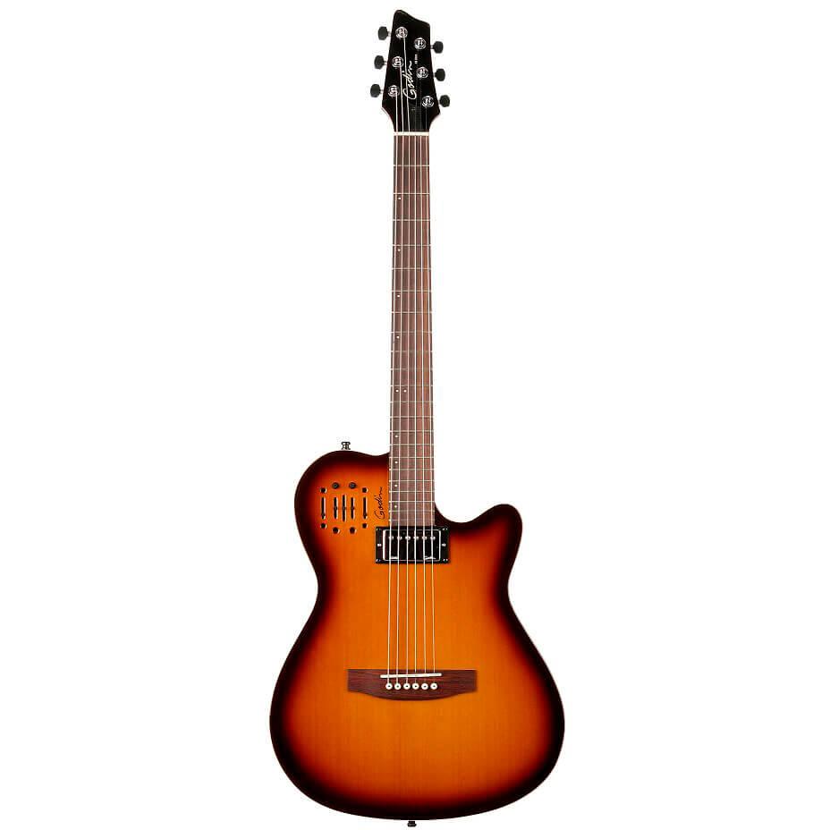 Godin A6Ultra el-guitar cognacburst