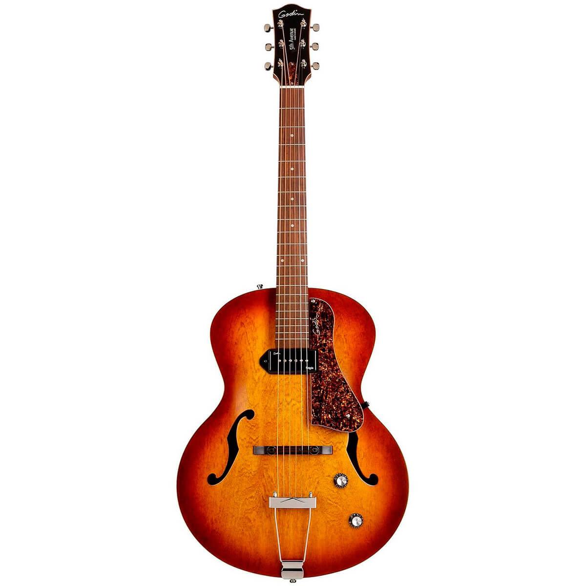 Godin 5thAvenueKingpinP90 el-guitar cognacburst