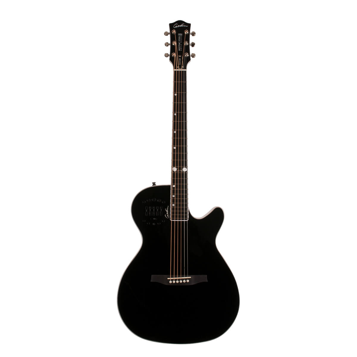 Image of   Godin Multiac Steel Doyle Dykes Signature Edition western-guitar black HG