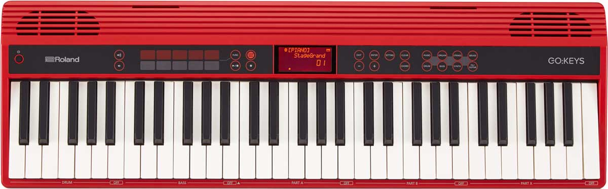Image of   Roland GO:KEYS keyboard