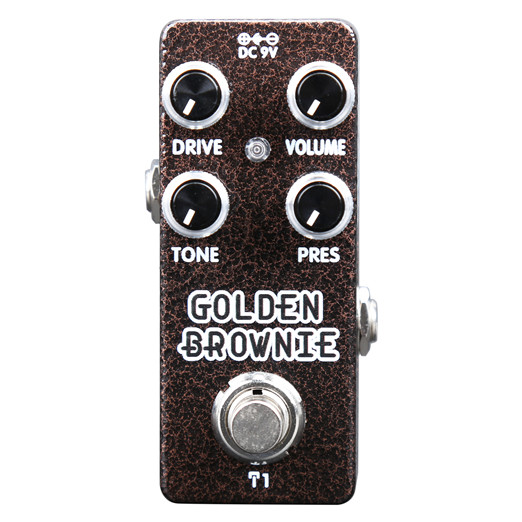 Billede af XVive T1 Golden Brownie guitar-effekt-pedal