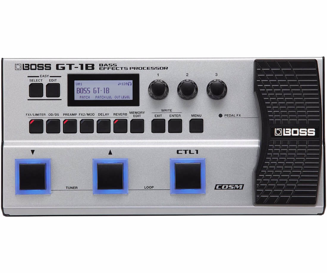 Boss GT-1B bas-multi-effekt-board