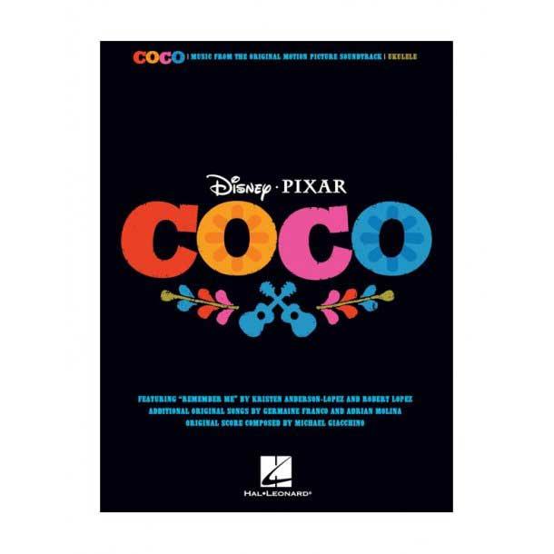 Brand mangler Disney Pixar Coco ukulele-nodebog