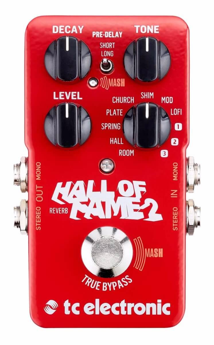 TCElectronic HallofFame2 guitar-effekt-pedal