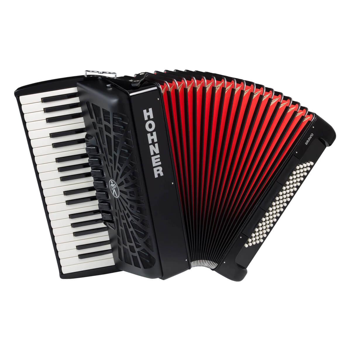 Hohner Bravo III 80 piano-harmonika