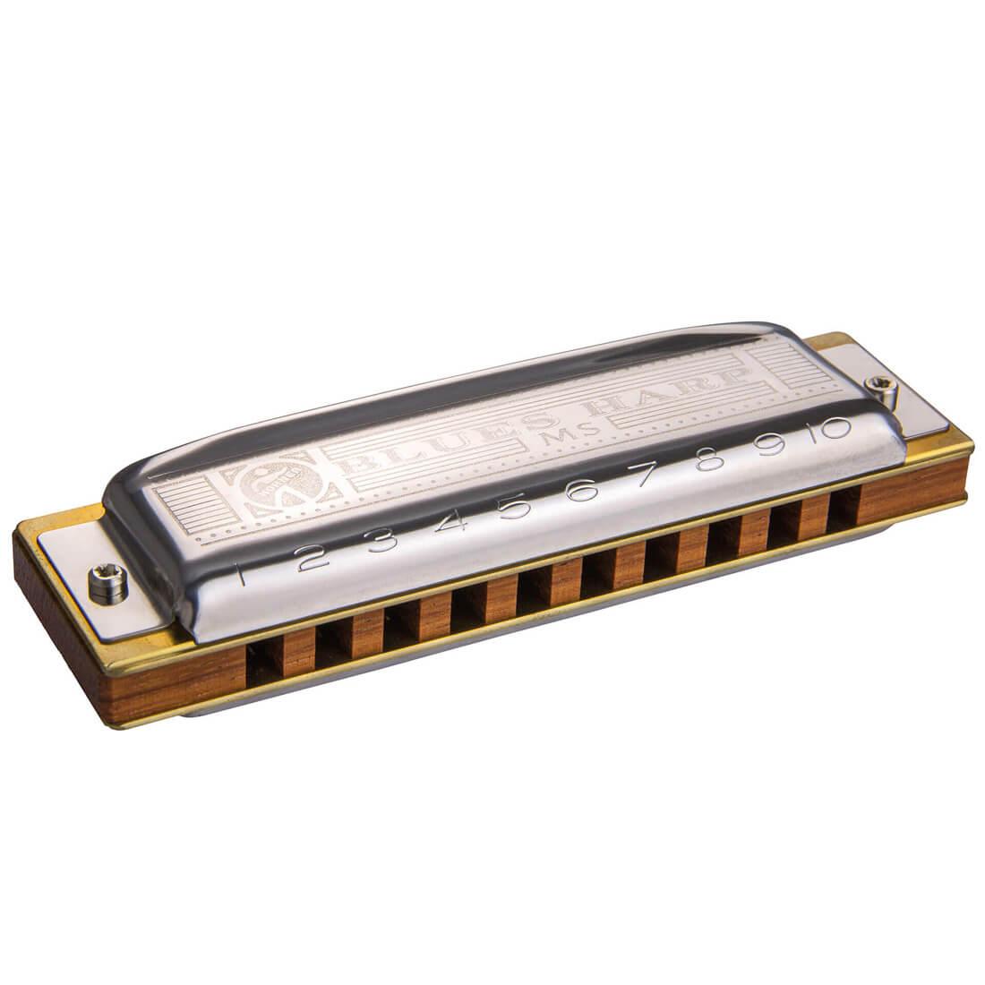 Hohner MS Blues Harp B mundharmonika