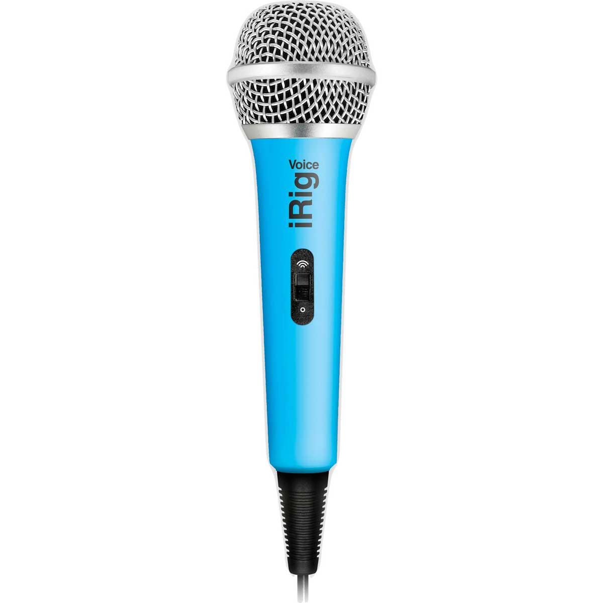 Billede af IK Multimedia iRig Voice mikrofontilsmartphone/tablet blå