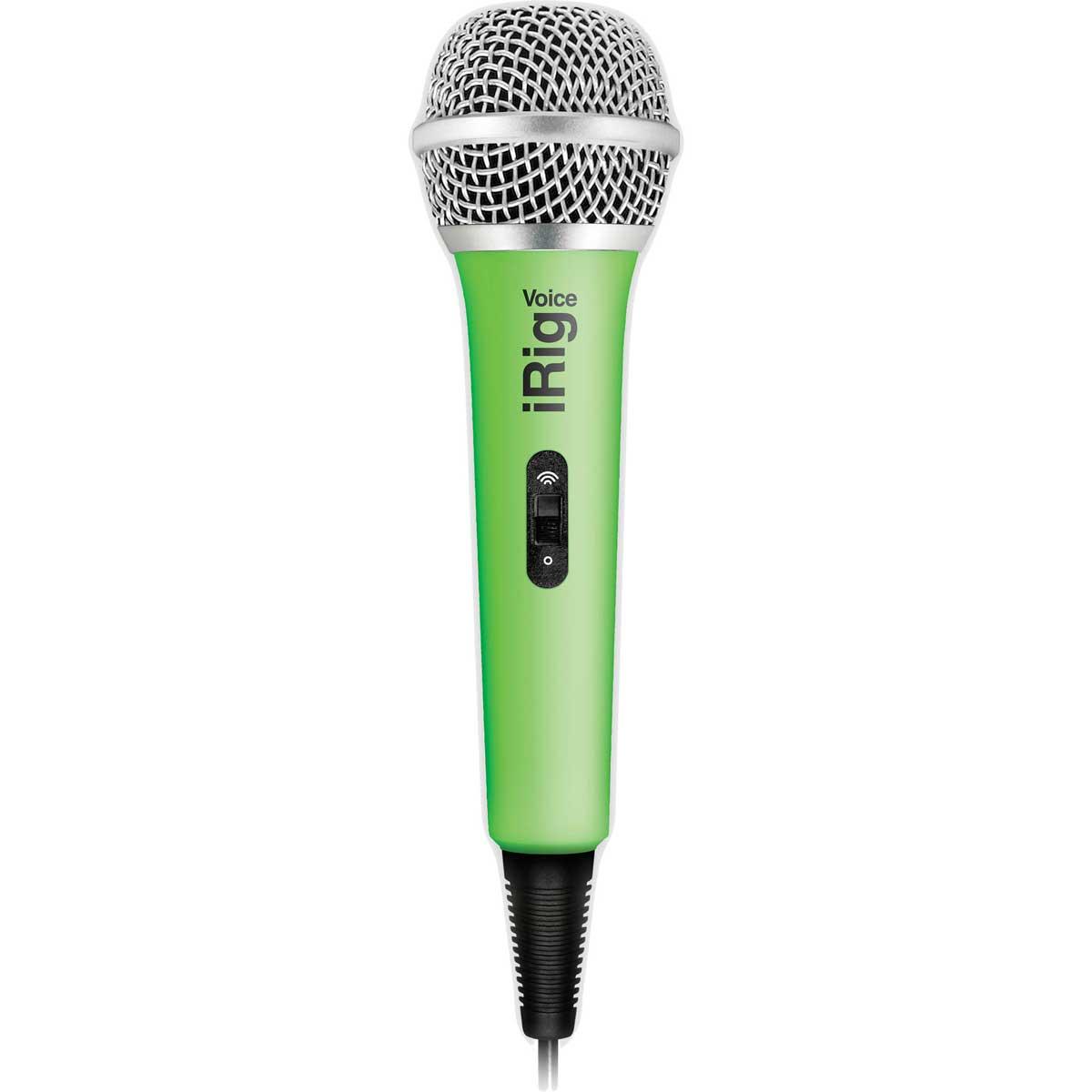 Billede af IK Multimedia iRig Voice mikrofontilsmartphone/tablet grøn