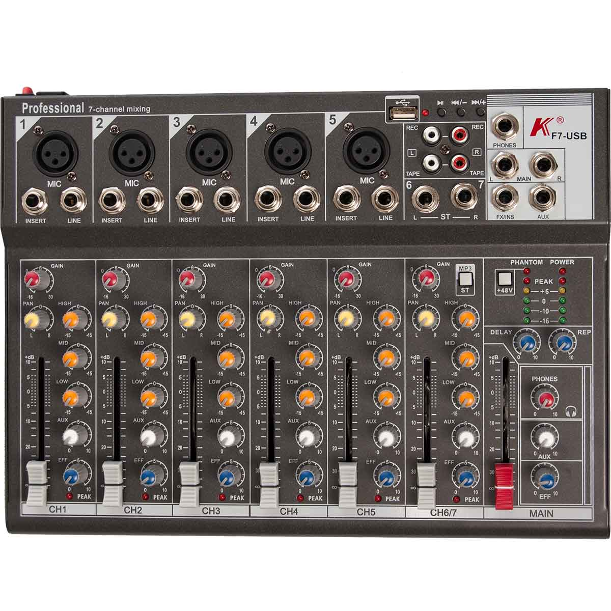 Image of   K F7-USB mixer