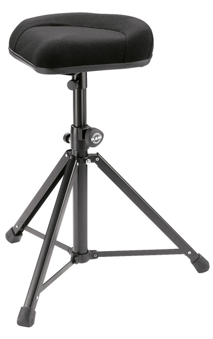 K&M König & Meyer 14053-000-55 stol til keyboard, slagtøj mm.