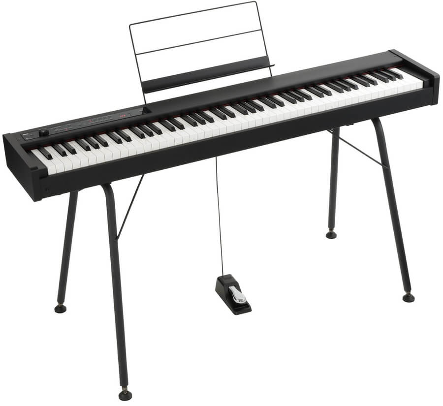 Image of   Korg D1 stage piano + stativ