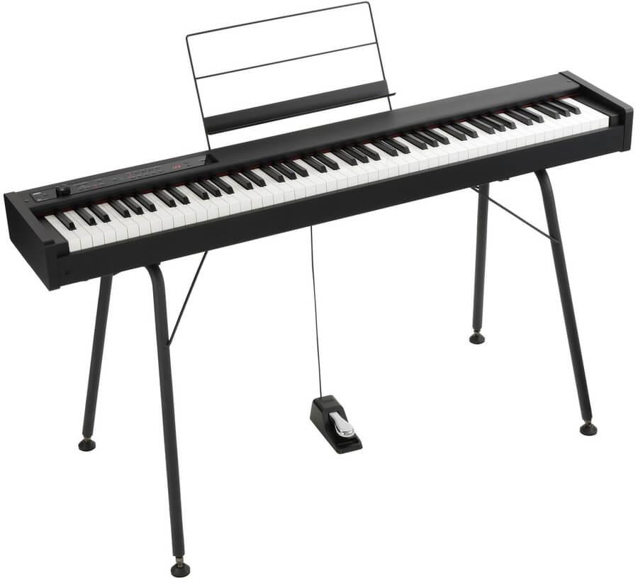 Korg D1 stage piano + stativ
