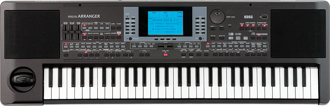 Image of   Korg microARRANGER synthesizer/keyboard