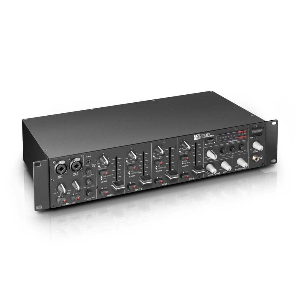 Image of   LD Systems Zone 423 rack-mixer